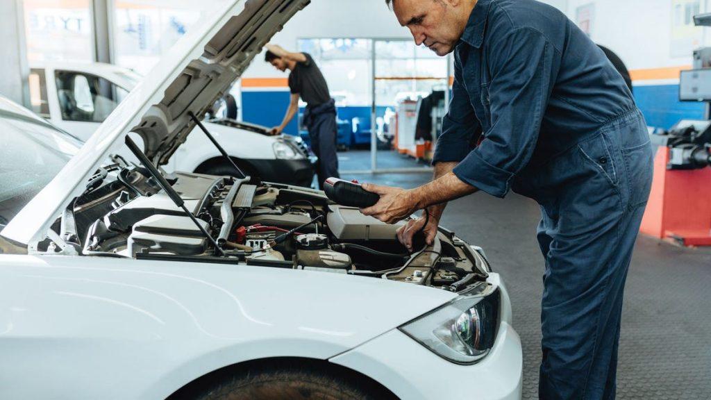 reparación de autos